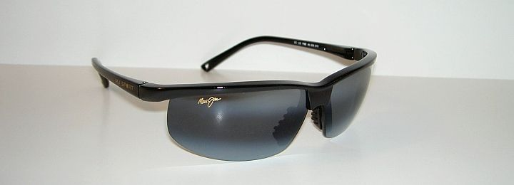 Authentic Polarized MAUI JIM SUNSET Sunglasses Black Frame 402 02